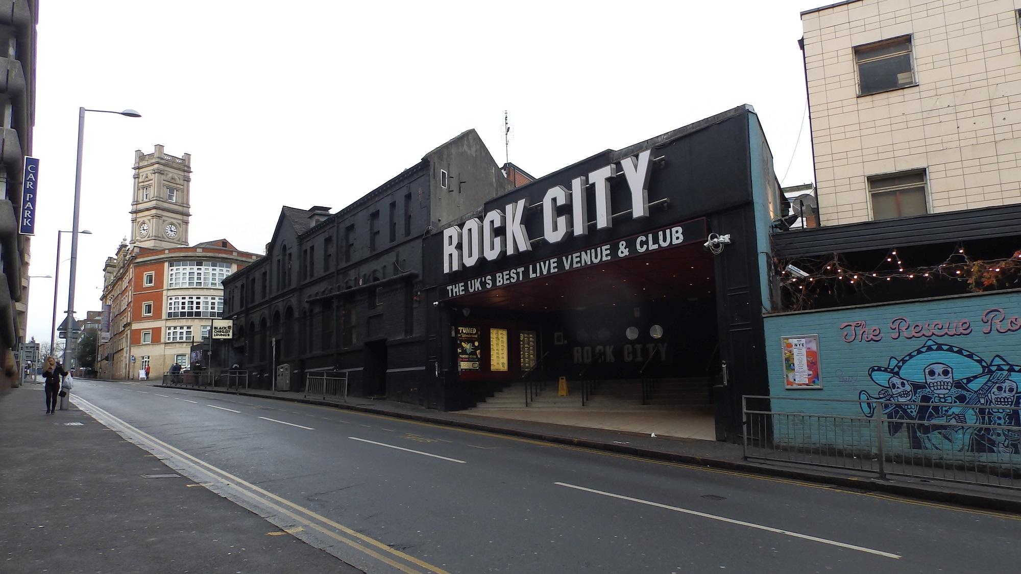 Building Rock Types in Nottingham City Centre Essay