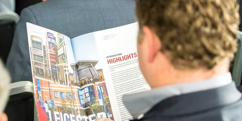 Guest reads our Market Insite brochure