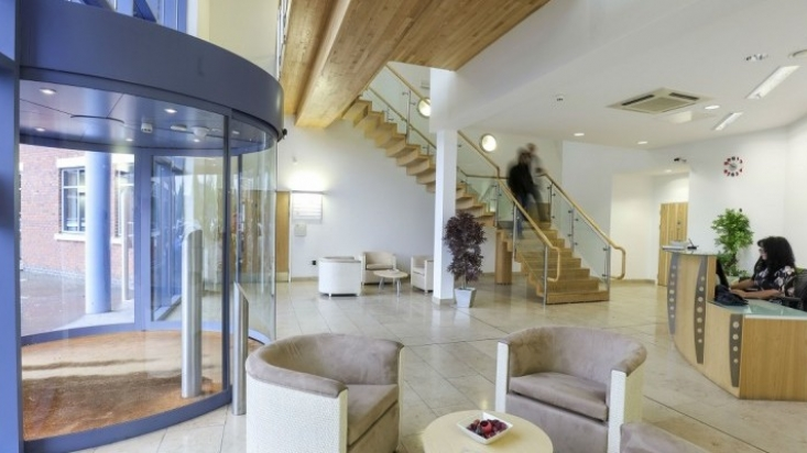Ergo House Ruddington reception