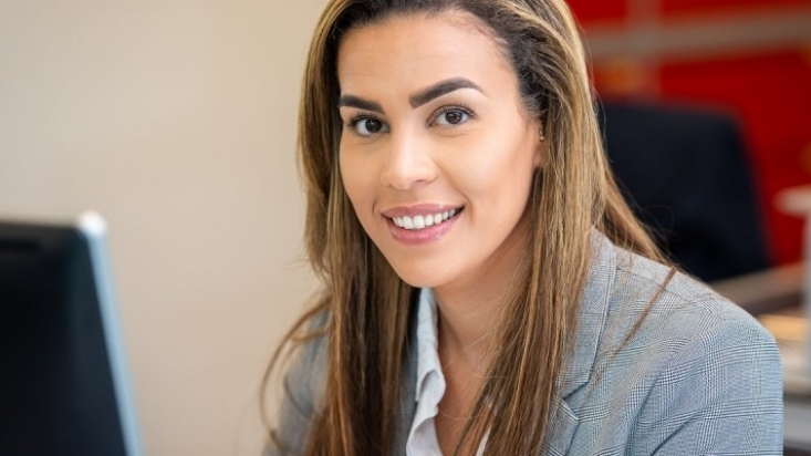 Chartered surveyor Lydia Tatar