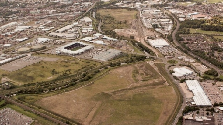 70 acre Network Rail site in Derby