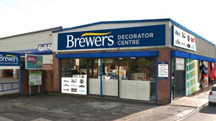 External view of Brewers store