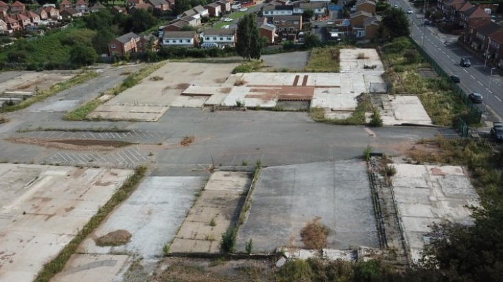 Nottinghamshire County Council Brownfield Site