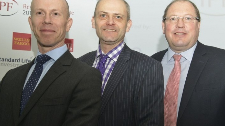 Pictured: Darren Williamson of Freeth Cartwright (left); David Smith, a founder member of the Midlands IPF (middle), and Matthew Hannah of I