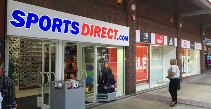 Sports Direct's new store at the Albion Centre in Ilkeston