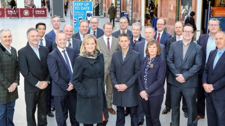 Team Nottingham members for MIPIM 2015