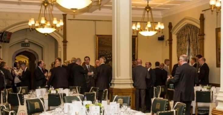 Maggie s called to order at house of commons innes england for Dining room c house of commons