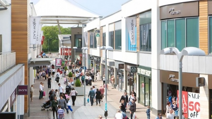 Corby Town shopping centre