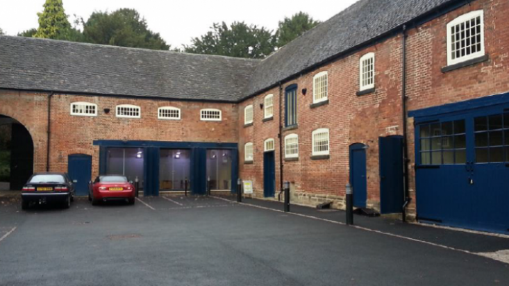 The newly renovated Darley Abbey Stables