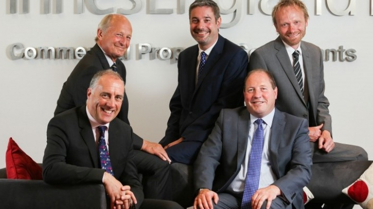New sector heads Robert Hartley, Tim Garratt, Gary Woodward, Matthew Hannah and Steve Holland