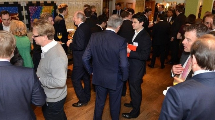 Guests at the Market Insite London event