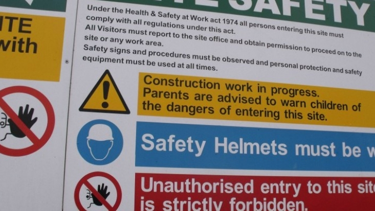 Health and safety regulation is changing