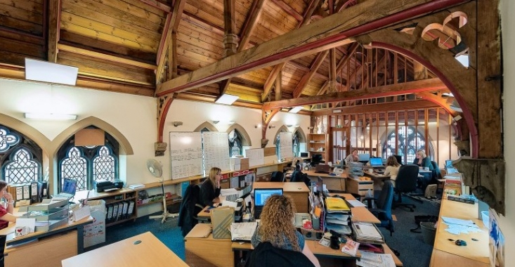 Timms Solicitors' new office space at St Michael's in Derby