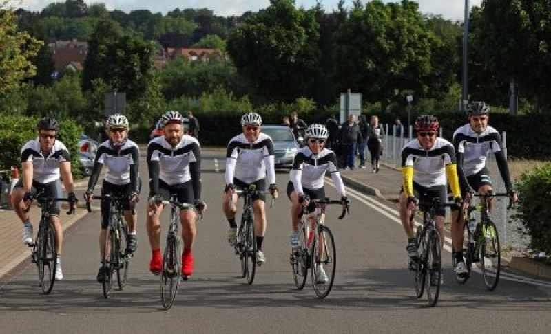 Innes England team pedal their way to success