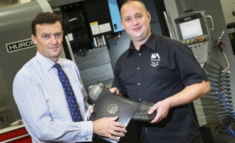 Expanding Leicester manufacturer moulds into new premises in Bardon