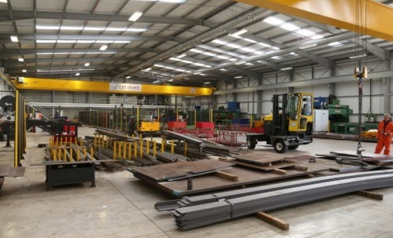 Steel firm unveils £5m assembly plant in Notts